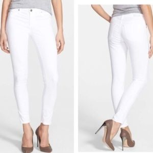 AG Adriano Goldschmied The Legging Ankle White